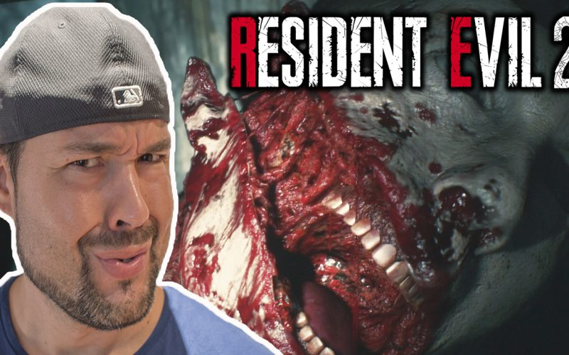 INCREIBLE la DEMO de Resident Evil 2 Remake!