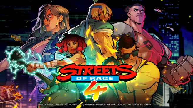 Streets Of Rage 4, el beat ´em up del 2020.